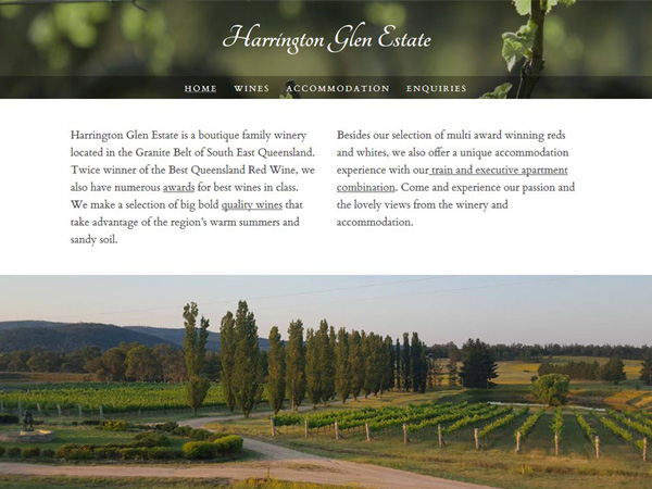 Harrington Glen Estate - Recent work