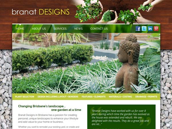 Branat Designs - Design  · Content management system  · Gallery  · Mobile responsive