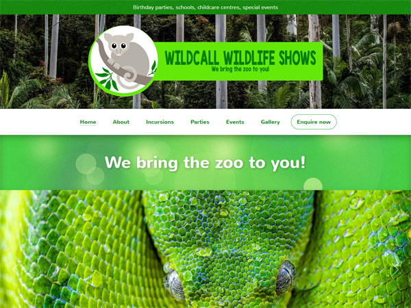 Wildcall Wildlife Shows - Recent work