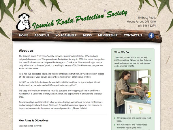 Ipswich Koala Protection Society - Recent work