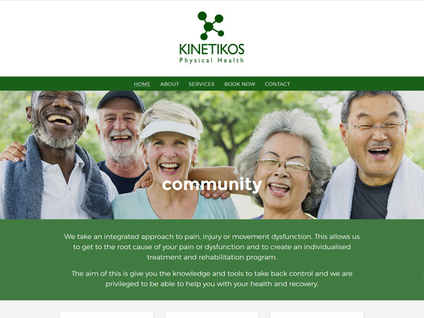 Kinetikos Physical Health - Recent work
