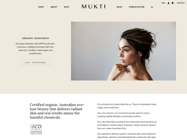 Mukti Organics - Recent work