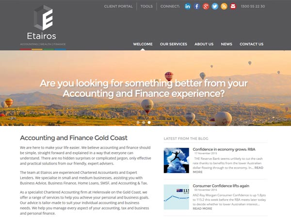 Etairos Accounting & Finance - Recent work